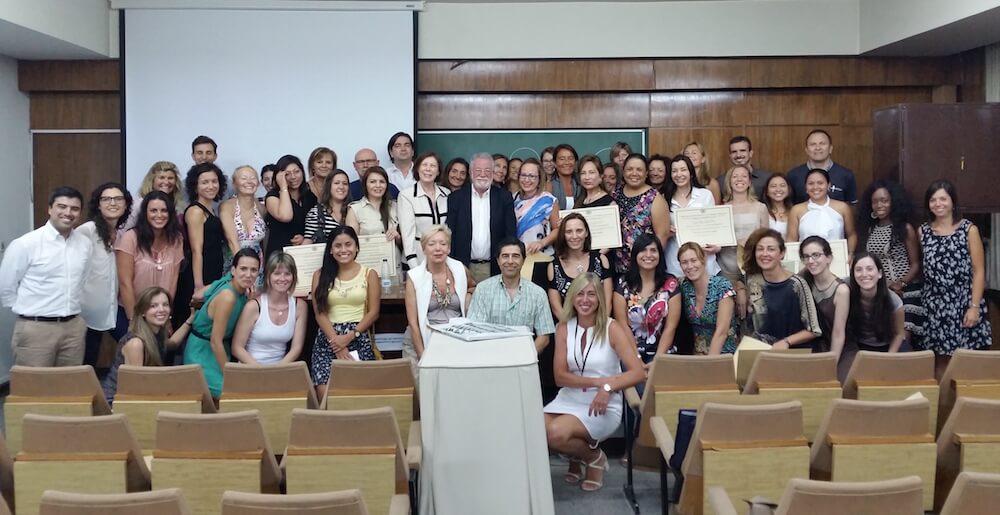 Día de Clausura con alumnos en la Universidad Complutense de Madrid