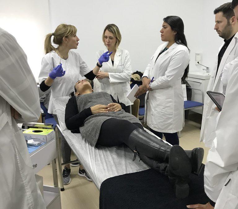 Nuevas Jornadas de Prácticas Intensivas Master de Estética y Antienvejecimiento UCM 2018 en Pineal Formación